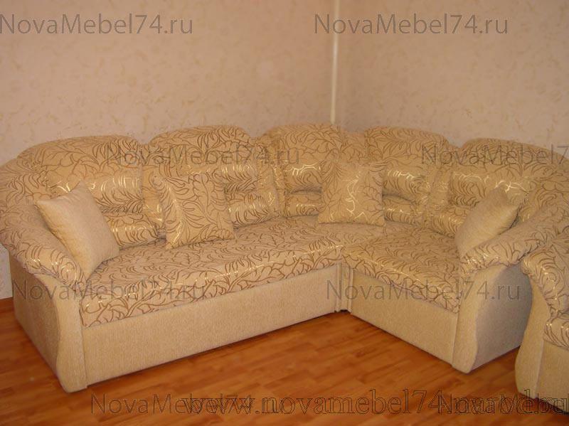 Перетяжка дивана углового своими руками