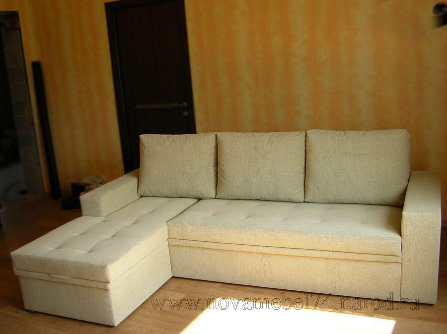 Обшить угловой диван своими руками